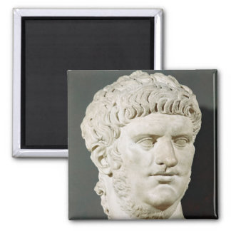 Bust of Nero Square Magnet
