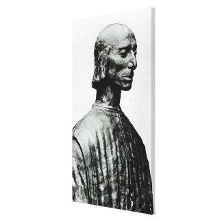 Bust of Niccolo Machiavelli Canvas Print
