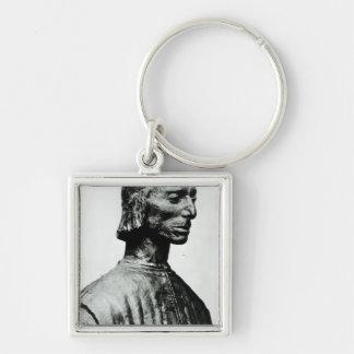 Bust of Niccolo Machiavelli Key Chains