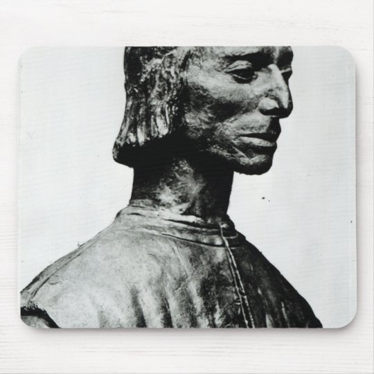 Bust of Niccolo Machiavelli Mouse Mat