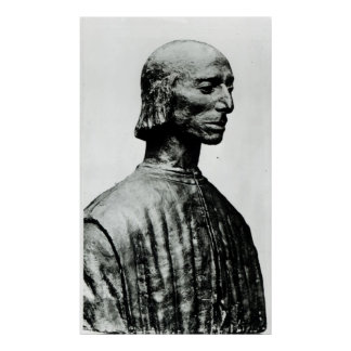 Bust of Niccolo Machiavelli Poster