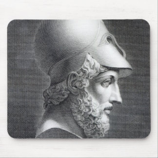 Bust of Pericles, engraved by Giuseppe Cozzi Mouse Pad