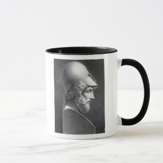 Bust of Pericles, engraved by Giuseppe Cozzi Mug