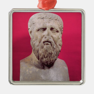 Bust of Plato  copy of a 4th century BC original Christmas Ornament