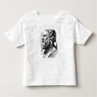 Bust of Plato engraved by Lucas Emil Toddler T-Shirt