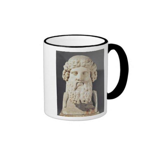 Bust of Plato Coffee Mug