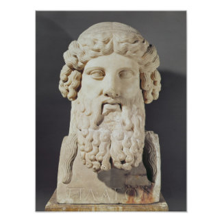 Bust of Plato Print