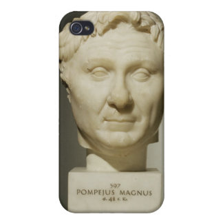 Bust of Pompey (106-48 BC) c.60 BC (marble) iPhone 4/4S Cases