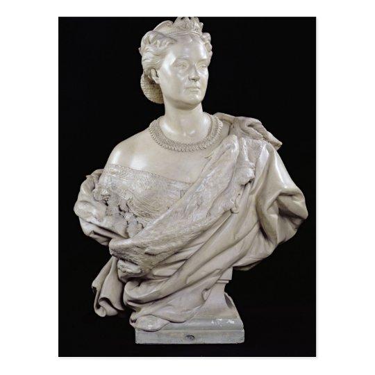 Bust of Princess Mathilde  c.1862-63 Postcard