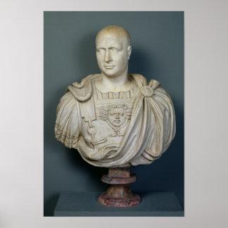 Bust of Publius Cornelius Scipio 'Africanus' Poster
