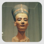 Bust of Queen Nefertiti, front view Stickers