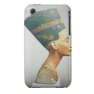 Bust of Queen Nefertiti, side view, from the studi iPhone 3 Cases