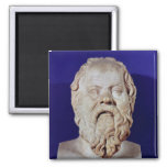 Bust of Socrates Magnet