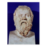 Bust of Socrates Postcard