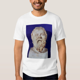 Bust of Socrates Tees