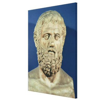 Bust of Sophocles Gallery Wrap Canvas