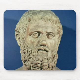 Bust of Sophocles Mouse Mat