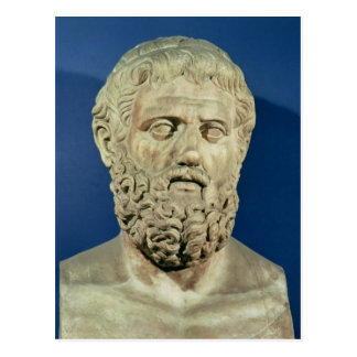 Bust of Sophocles Postcard