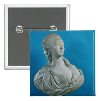 Bust of the Countess du Barry  1773 15 Cm Square Badge
