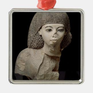 Bust of the Royal Scribe, Meniou, New Kingdom Christmas Ornament