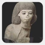 Bust of the Royal Scribe, Meniou, New Kingdom Square Sticker
