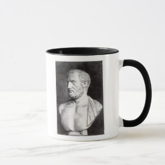Bust of Thucydides , engraved by Barbant Mug