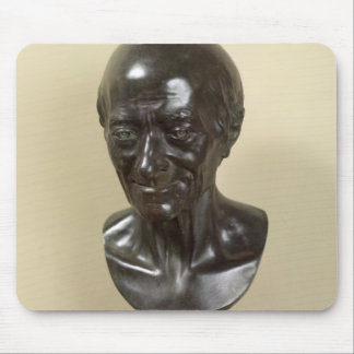 Bust of Voltaire  1778 Mouse Mat