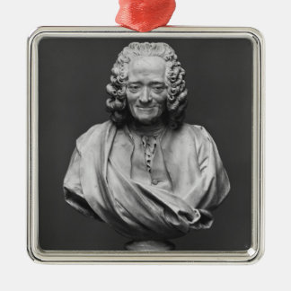 Bust of Voltaire Christmas Ornament