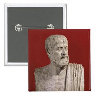 Bust presumed to be Flavius Claudius Julianus 15 Cm Square Badge