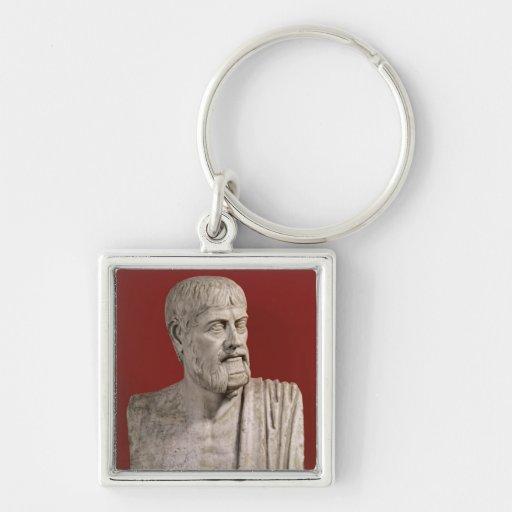 Bust presumed to be Flavius Claudius Julianus Keychains