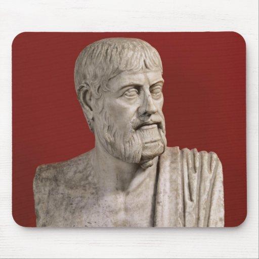 Bust presumed to be Flavius Claudius Julianus Mousepad