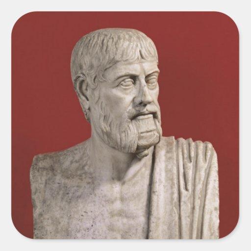 Bust presumed to be Flavius Claudius Julianus Stickers