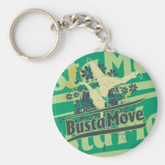 Busta Move T-shirts and Gifts Keychain