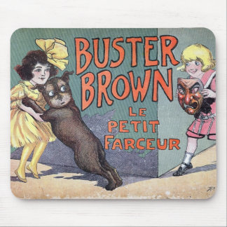 Buster Brown Mouse Pads