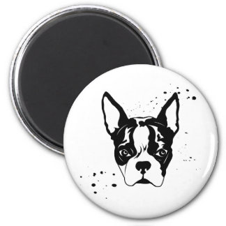 buster rough 6 cm round magnet