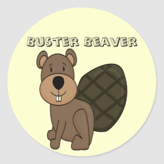 Buster the Beaver Fun Stickers