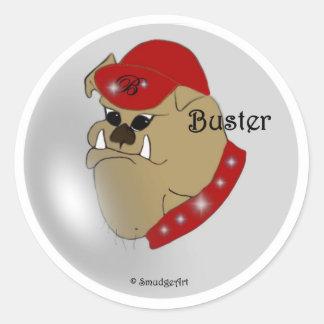 Buster The Bulldog Sticker
