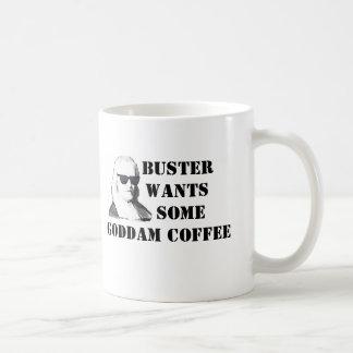 Buster's Javaceptacle Basic White Mug