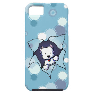 Busting Free Westie iPhone 5 Cases