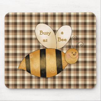 Busy as a Bee Fun Mousepad