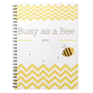 Busy as a Bee Notebook