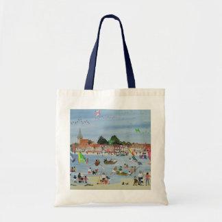 Busy Beach Budget Tote Bag