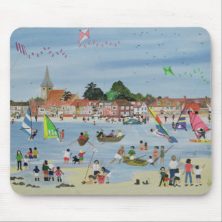 Busy Beach Mouse Pad