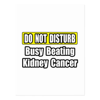 Busy Beating Kidney Cancer Postcard