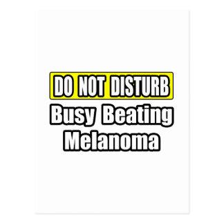 Busy Beating Melanoma Postcard