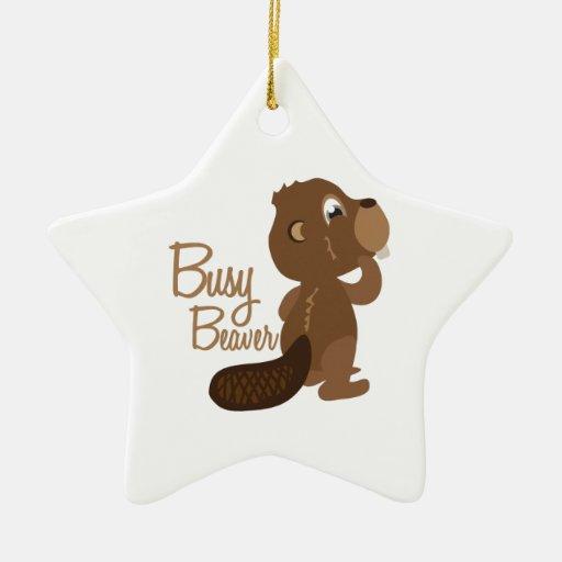 Busy Beaver Ornament