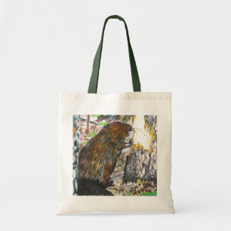 Busy Beaver Tote Bag