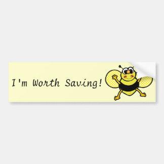 Busy Bee Bumper Sticker