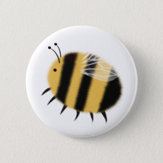 Busy Bee - bzzzz 6 Cm Round Badge