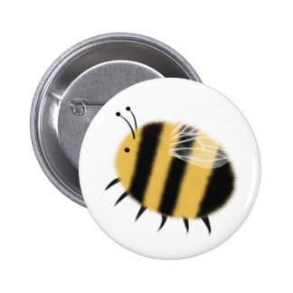 Busy Bee - bzzzz 6 Cm Round Badge